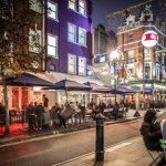 Marylebone in night